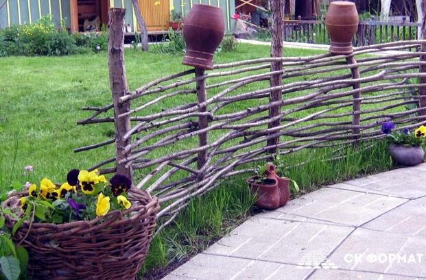 lдеревенский стиль в ландшафтном дизайне